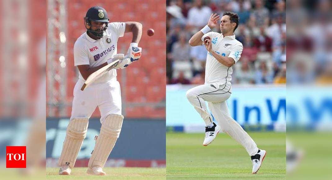 WTC Final: I will be looking forward to Boult vs Rohit contest, says Sehwag | Cricket News – Times of India