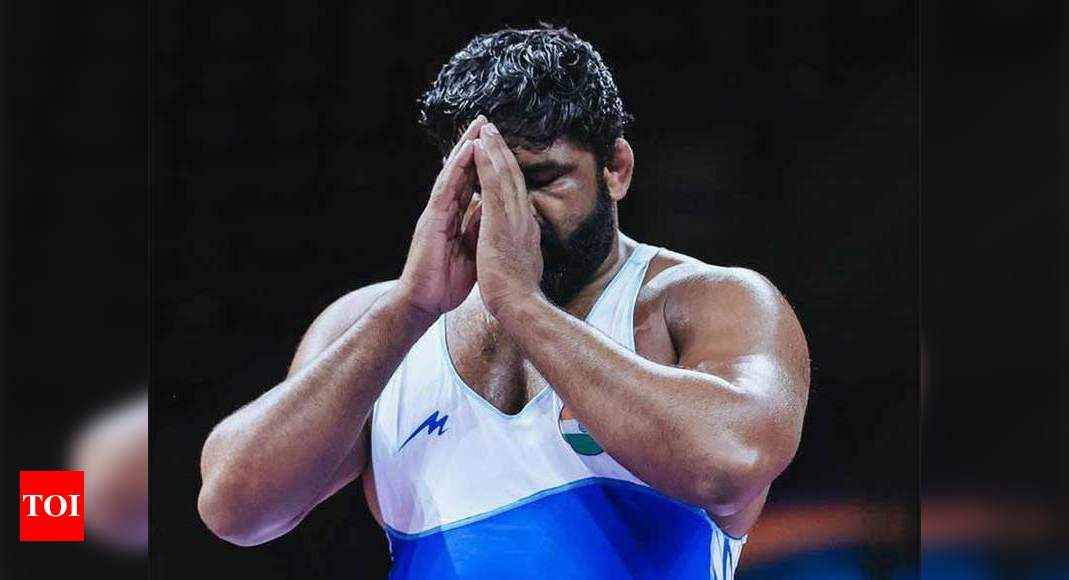 After failing dope test, wrestler Sumit Malik gives consent to get B sample analysed | More sports News – Times of India