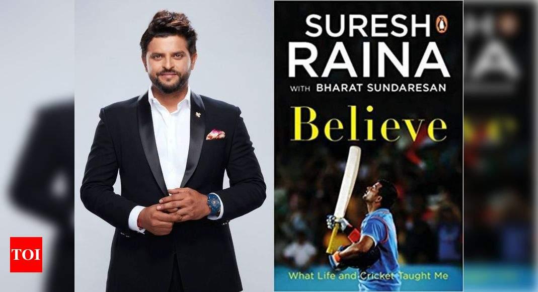 'Just believe in yourself': Suresh Raina