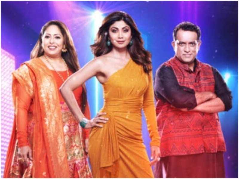 Geeta Kapoor, Shilpa Shetty, Anurag Basu in Super Dancer 4