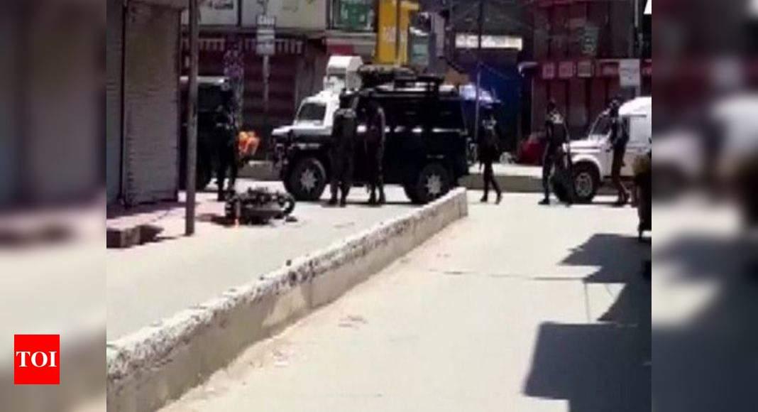 Two cops, as many civilians killed as militants open fire in Sopore town in J&K