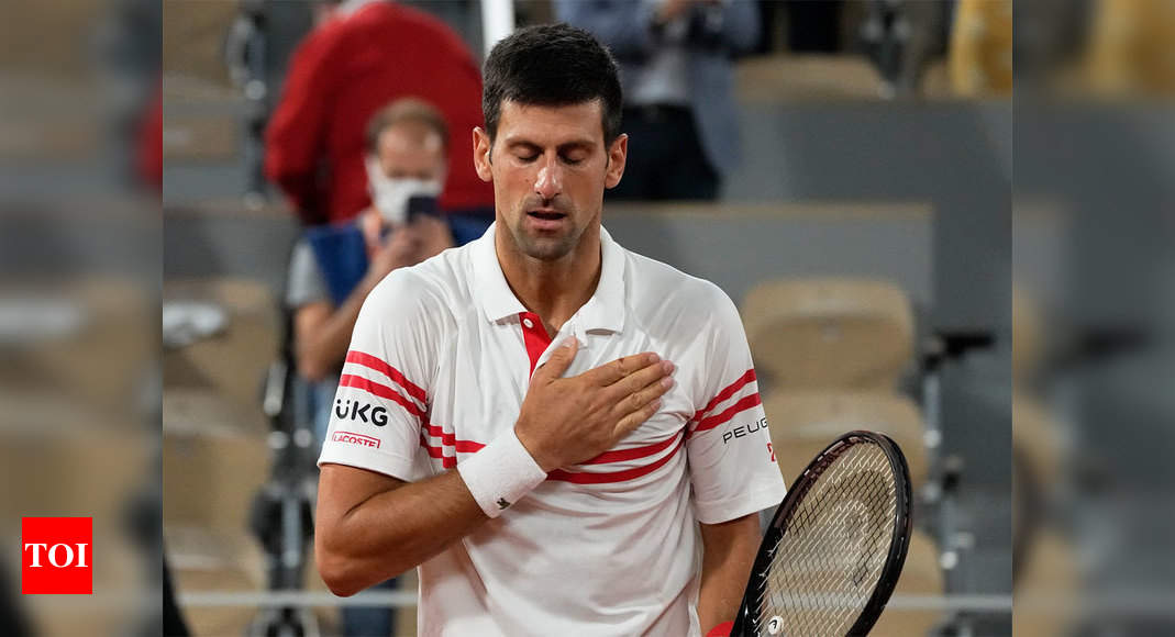 Novak Djokovic conquers 'Everest' and eyes 52-year landmark at French Open | Tennis News – Times of India