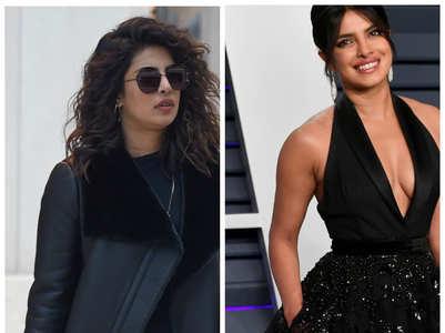 Priyanka Chopra's alluring black wardrobe