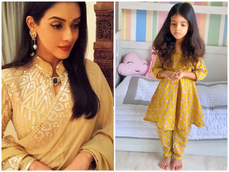 Asin shares a photo of her daughter Arin's kathak practice