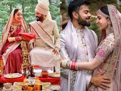 Celebs who announced wedding on Instagram