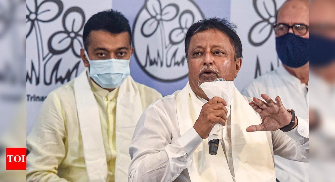 Mukul Roy writes to MHA to take back 'Z' category security cover a day after joining back TMC