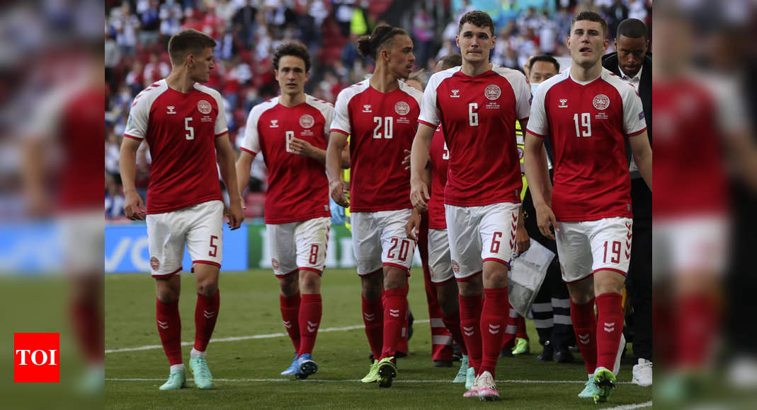 Denmark players too overwhelmed to finish Finland game after Eriksen collapse: Coach