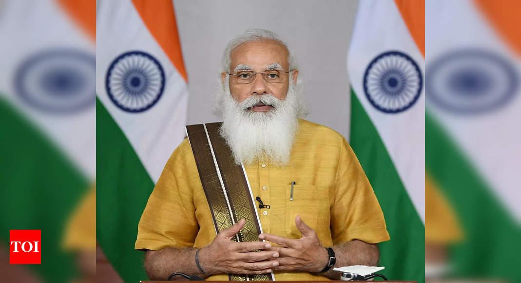 PM Modi condoles demise of Cong leader Indira Hridayesh | India News – Times of India