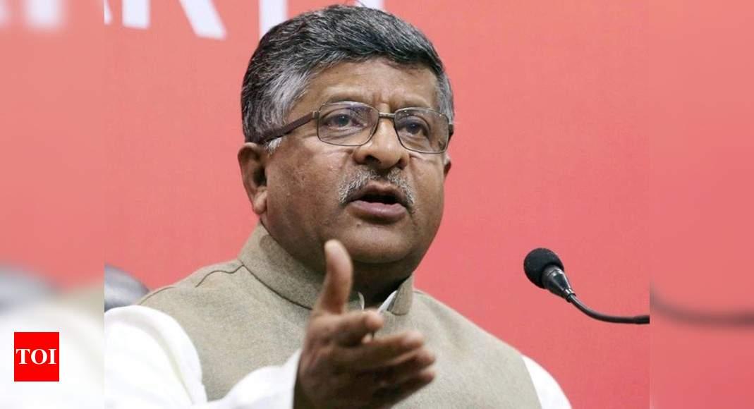 Ravi Shankar Prasad asks Congress to make its stand clear on Digvijay's remarks on Art 370