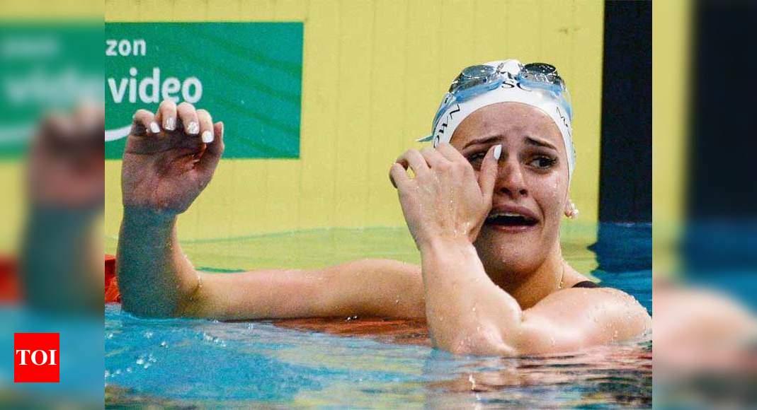 McKeown smashes women's 100m backstroke world record