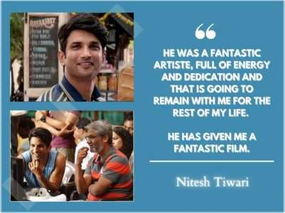 Nitesh shares his fond memories with SSR