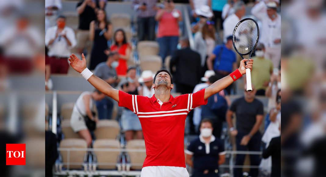 French Open Live: Novak Djokovic meets Stefanos Tsitsipas in Old vs New final
