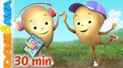 Check Out Latest Childrens English Nursery Song 'One Potato, Two Potatoes And Many More' for Kids - Watch Fun Kids Nursery Rhymes And Baby Songs In English