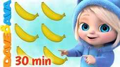 Check Out Latest Childrens English Nursery Song 'One Banana, Two Bananas And Many More' for Kids - Watch Fun Kids Nursery Rhymes And Baby Songs In English