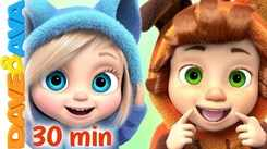 Check Out Latest Childrens English Nursery Song 'Head Shoulders Knees And Toes And Many More' for Kids - Watch Fun Kids Nursery Rhymes And Baby Songs In English