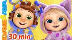 Watch Popular Kids English Nursery Song 'This is the Way We Go to Sleep, Brush Your Teeth And Many More' for Kids - Check Out Fun Kids Nursery Rhymes And Baby Songs In English