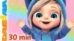Watch Popular Kids English Nursery Song 'Looby Loo And Many More' for Kids - Check Out Fun Kids Nursery Rhymes And Baby Songs In English