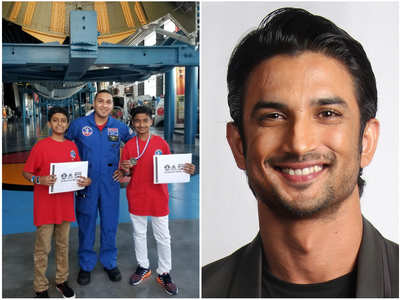 SSR wanted to send 100 Indian kids to NASA