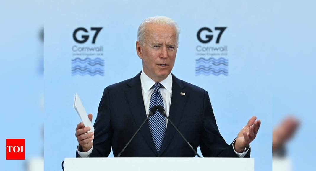 With Biden's backing, G7 leaders' communiqué slams China on multiple fronts