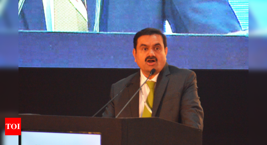 Adani shares fall on report of NSDL freezing foreign funds' a/c