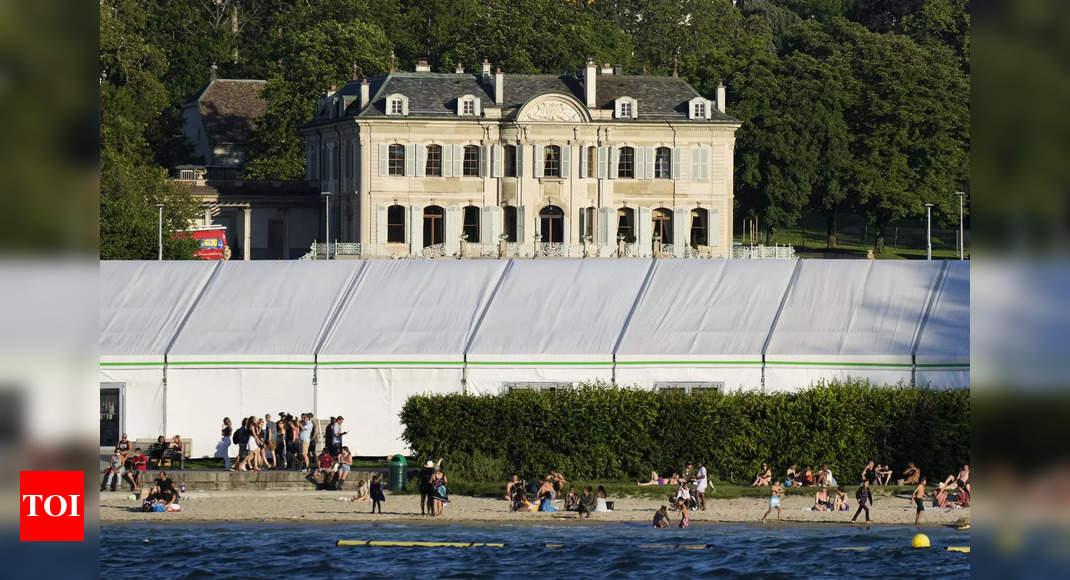 Historic lakeside villa spruced up for Biden-Putin talks