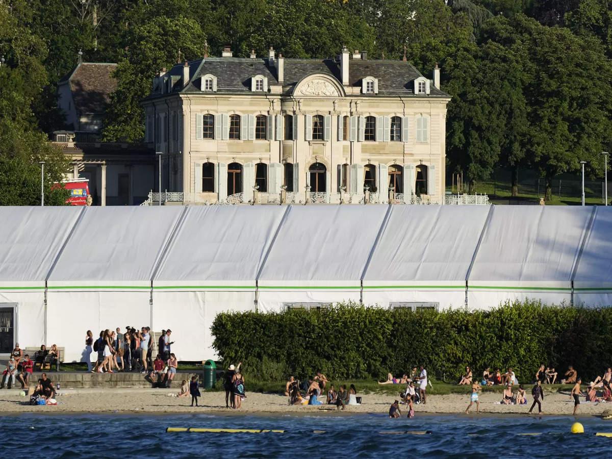 Historic lakeside villa spruced up for Biden-Putin talks - Times of India