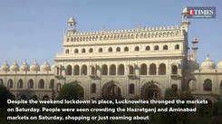 Weekend ka vaar in Lucknow markets