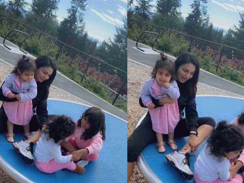 THIS cute video of Neeru Bajwa with her daughters will kick off your Monday blues