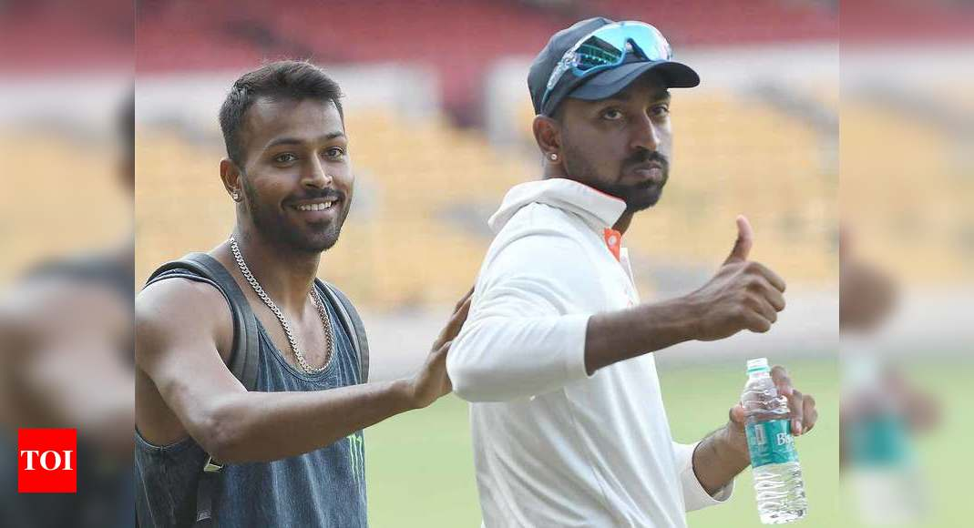 There are a lot of battles we fight within ourselves: Krunal Pandya