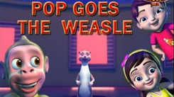 English Kids Poem: Nursery Song in English 'Pop Goes The Weasel'