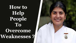 How To Help People To Overcome Weaknesses?