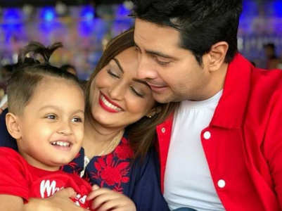 Karan Mehra wishes son Kavish on his b'day