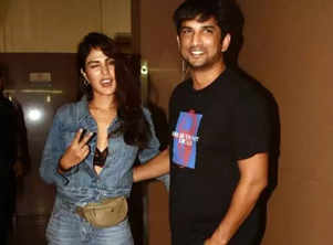 Rhea Chakraborty's emotional note for SSR