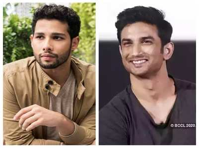 Siddhant Chaturvedi's video letter for SSR