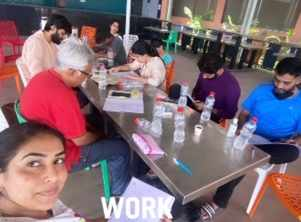 'Reading Time, Work Mode On': Niilam Paanchal as she ropes for her new project