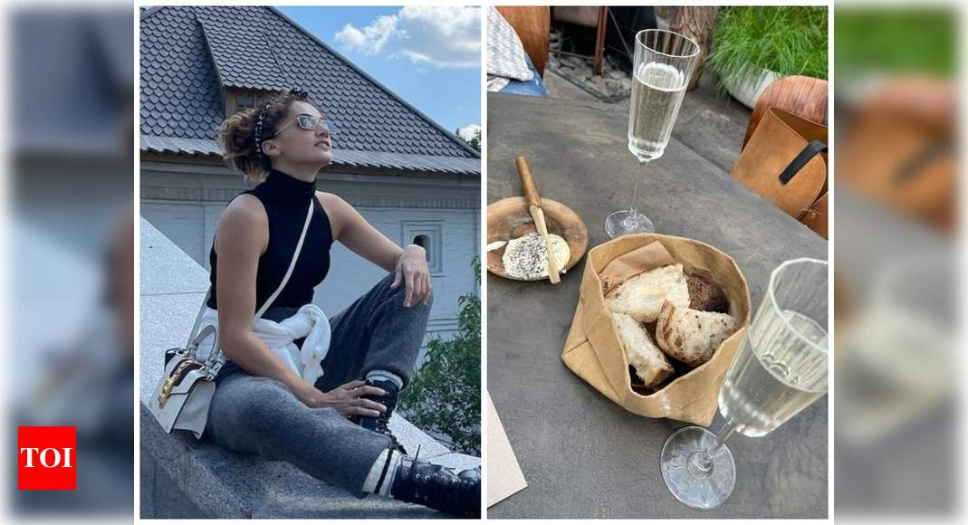 Taapsee Pannu chills in Russia with sister