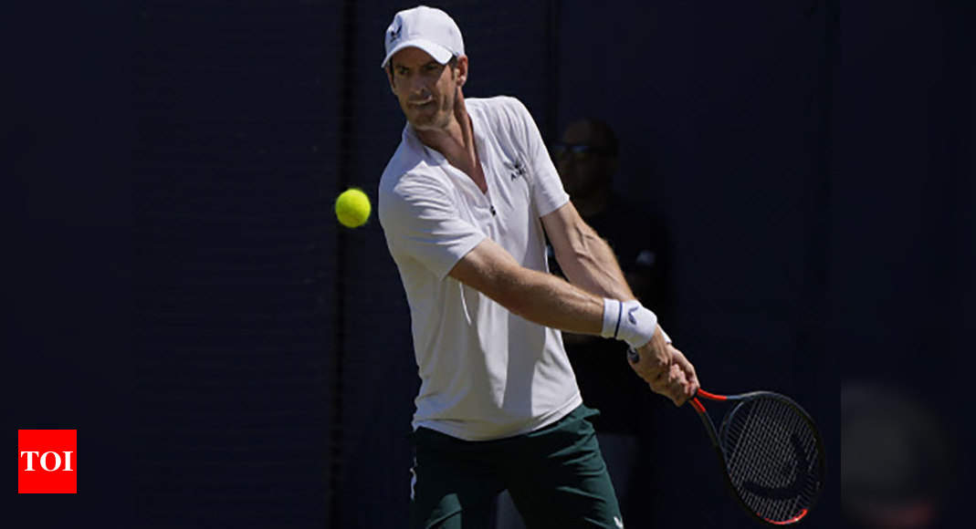 Andy Murray downbeat on chances of return to top | Tennis News – Times of India