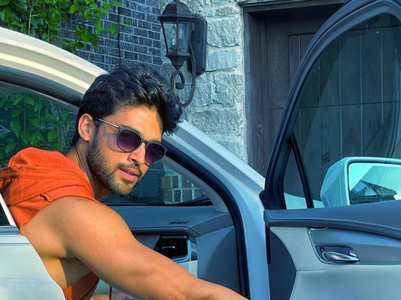 Parth Samthaan goes touristy in the US