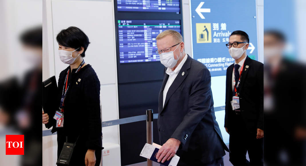 IOC vice-president in Japan as Olympic preparations ramp up