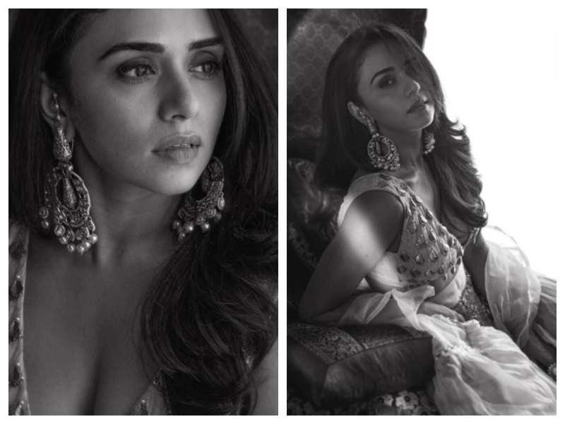 Himmanshoo Malhotra is all hearts for wife Amruta Khanvilkar's latest monochrome pictures