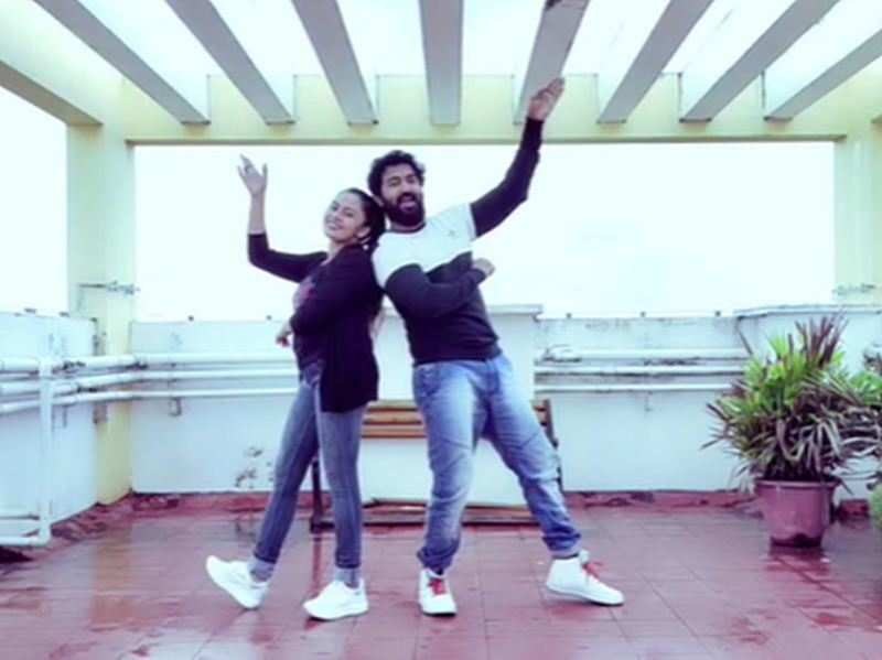 TV couple John and Dhanya groove to Neeraj Madhav's 'First Love'; watch