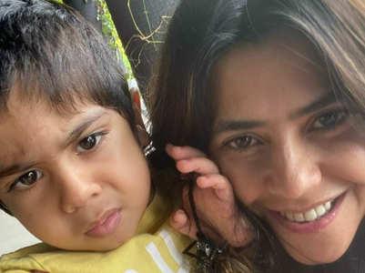 Ekta jokes about son's interest in girls