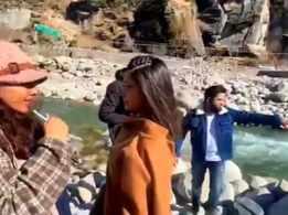 Watch: Bhakti Kubavat congratulates the entire team of 'Haasil', shares BTS video