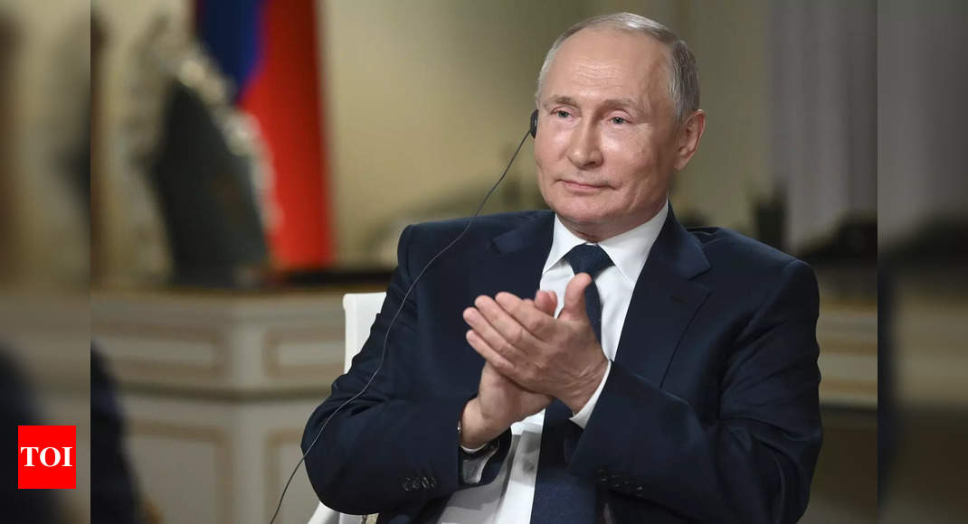Vladimir Putin:  'One cold dude': US presidents on Putin | World News – Times of India