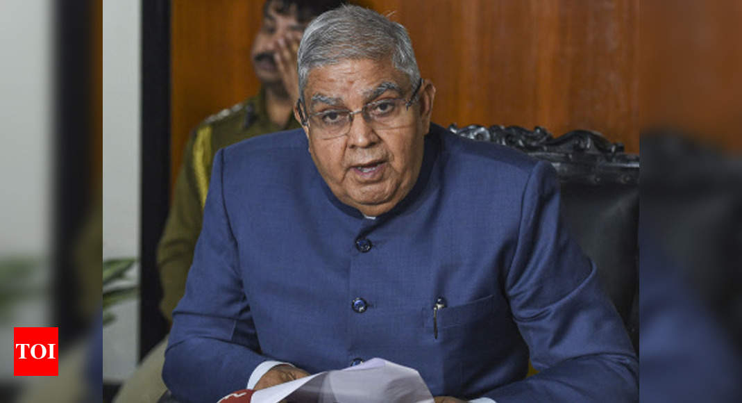 Bengal governor to visit Delhi after his Monday's meeting with BJP MLAs over law and order situation | India News – Times of India
