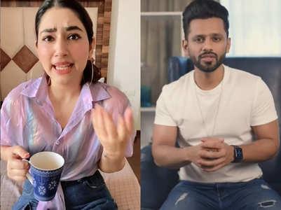 Rahul Vaidya calls GF Disha Parmar 'lazy'