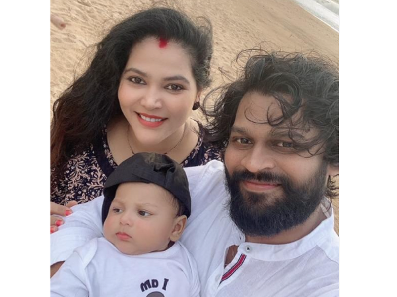 Seema Singh takes her son Shivaay to his first trip to Goa