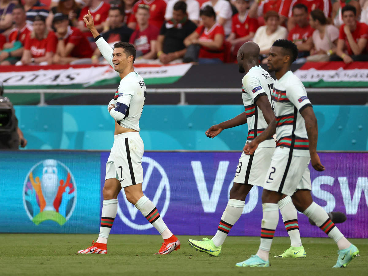 UEFA EURO 2020, Hungary vs Portugal Highlights: Portugal beat Hungary 3-0  in their opening match - The Times of India