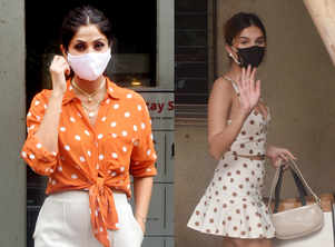 Who wore polka-dots better?