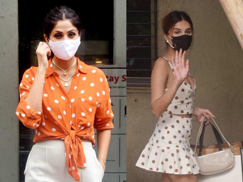 Shilpa Shetty or Tara Sutaria: Who wore polka-dots better?